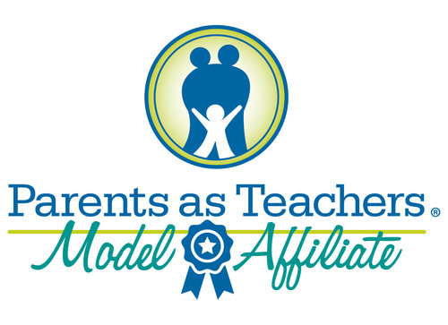 Parents as Teachers Model Affiliate logo - Blue Ribbon